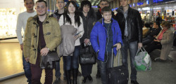 Профориентационная поездка школьников Бишкека в ТПУ