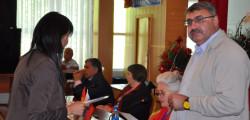 Вручение дипломов победителям конкурса студенческих работ г. Ош