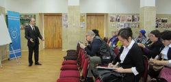 Проведение мастер-класса по математике преподавателями КемГУ, Бишкек, апрель 2017 г.