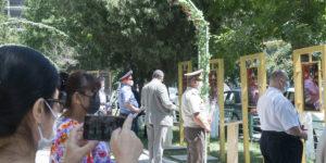Открытие праздничных мероприятий посвященных 75-летию Великой Победы в г. Джалал-Абаде